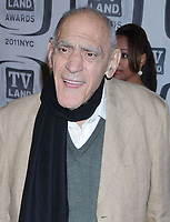 NEW YORK, NY - APRIL 10: Abe Vigoda and Cloris Leachman attend the 9th Annual TV Land Awards at the Javits Center on April 10, 2011 in New York City<br /> <br /> People:  Abe Vigoda, Cloris Leachman