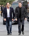 US director Oliver Stone and US actor John Travolta (R) attend the photocall of 'Savages' during the 60th San Sebastian Donostia International Film Festival - Zinemaldia.September 23,2012.(ALTERPHOTOS/ALFAQUI/Acero)