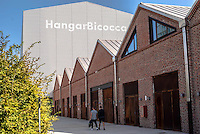 Milano, Hangar Bicocca, spazio espositivo in vecchi capannoni industriali sostenuto da Pirelli --- Milan, exhibitions space HangarBicocca, funded and managed by Pirelli, in old industrial sheds