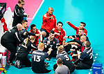 Lima, Peru -  25/August/2019 - Canada takes on Costa Rica in men's sitting volleyball at the Parapan Am Games in Lima, Peru. Photo: Dave Holland/Canadian Paralympic Committee.