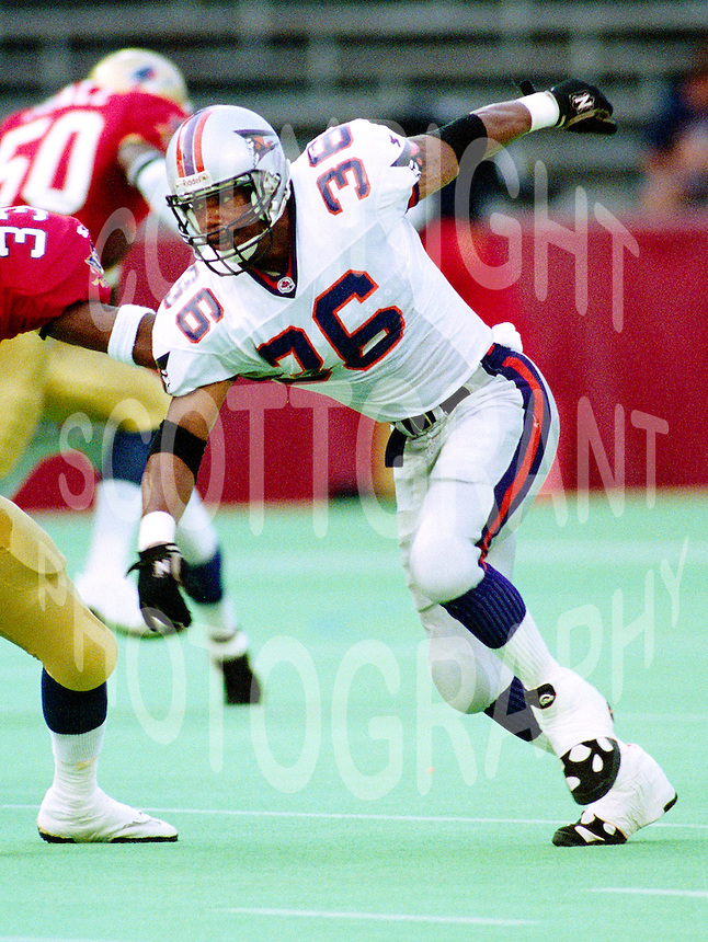 Mario Perry Shreveport Pirates 1994. Photo F. Scott Grant
