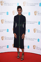 Letitia Wright<br /> at the photocall for BAFTA Film Awards 2018 nominations announcement, London<br /> <br /> <br /> ©Ash Knotek  D3367  09/01/2018