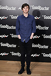Freddie Highmore attends to The Good Doctor photocall at Urso Hotel in Madrid, Spain. March 26, 2019. (ALTERPHOTOS/A. Perez Meca)