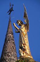Engel am Prinsenhof in Brügge, Flandern, Belgien