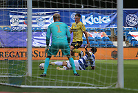 Yoann Barbet of Queens Park Rangers blocks Jed Wallace of Millwall shot during Queens Park Rangers vs Millwall, Sky Bet EFL Championship Football at Loftus Road Stadium on 18th July 2020