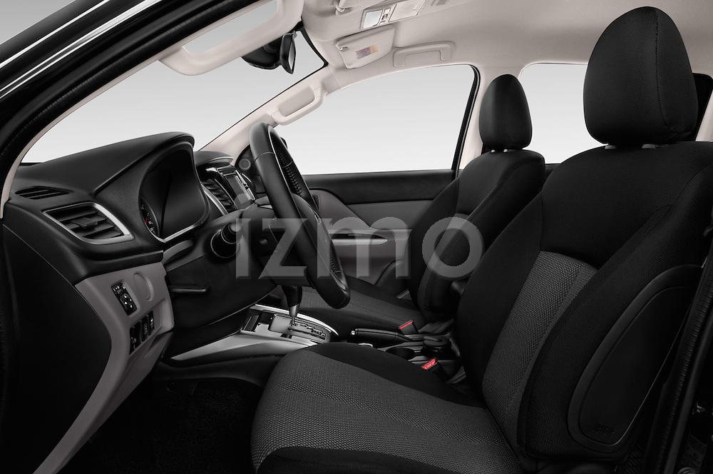 Front seat view of 2016 Mitsubishi L 200 Intense 4 Door Pickup Front Seat  car photos