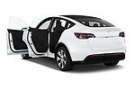 Car images of 2021 Tesla Model-Y Long-Range-AWD 5 Door SUV Doors