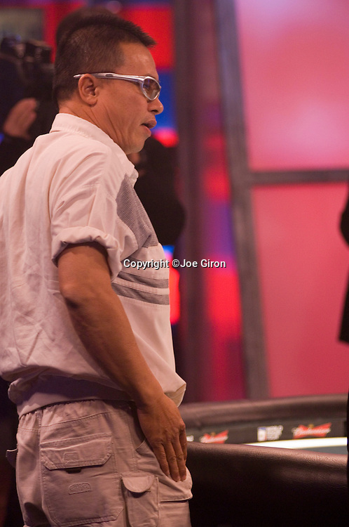 """An """"The Boss"""" Tran can only watch as he is eliminted in 5th. place."""