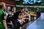Daniel Kubes beim Spiel in der Handball Bundesliga, TSV GWD Minden - HSG Nordhorn-Lingen.<br /> <br /> Foto © PIX-Sportfotos *** Foto ist honorarpflichtig! *** Auf Anfrage in hoeherer Qualitaet/Aufloesung. Belegexemplar erbeten. Veroeffentlichung ausschliesslich fuer journalistisch-publizistische Zwecke. For editorial use only.