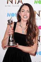 Lacey Turner<br /> in the winners room at the National TV Awards 2017 held at the O2 Arena, Greenwich, London.<br /> <br /> <br /> ©Ash Knotek  D3221  25/01/2017