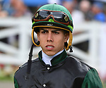 Diversify (no. 6), ridden by Irad Ortiz Jr. and trained by Rick Violette Jr., wins the 91st running of the grade 1 Whitney Stakes for three year olds and upward on August 04, 2018 at Saratoga Race Course in Saratoga Springs, New York. (Bob Mayberger/Eclipse Sportswire)