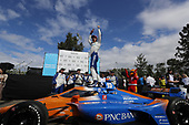 #10: Konica Minolta Acura ARX-05 Acura DPi, DPi: Ricky Taylor, Filipe Albuquerque, victory lane, crew members, podium, winner