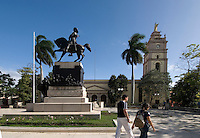 Cuba, Platz Parque Ignacio Agromonte und Kathedrale in Camagüey, Unesco-Weltkulturerbe