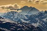 Fairweather Range, Glacier Bay National Park and Preserve, Alaska, USA