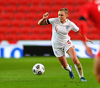 13th April 2021; Bet365 Stadium, Stoke, England; Georgia Stanway of England during the womens International Friendly match between England and Canada