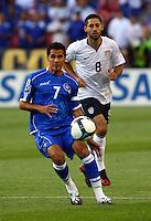 Ramon Sanchez, Clint Dempsey in the US Men's National Team vs El Salvador Men's National Team World Cup Qualifier at Rio Tinto Stadium in Salt LakeCity, Utah on September 5, 2009