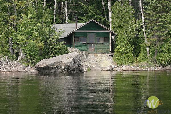 Fleck cabin, Camp Allagash
