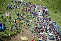 up and over the Port de Balès (HC/1755m/11.7km/7.7%)<br /> <br /> 2014 Tour de France<br /> stage16: Carcassonne - Bagnères-de-Luchon (237km)