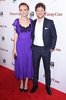 """Hebe Beardsall and Tom Gibbons<br /> arriving for the London Film Festival 2017 screening of """"Funny Cow"""" at the Vue West End, Leicester Square, London<br /> <br /> <br /> ©Ash Knotek  D3327  09/10/2017"""