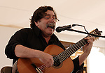 Uruguayan singer Hector Numa Moraes sings during a concert in Mexico city, November 13, 2005. Moraes is on a music tour from Spain, Islas Canarias, Canada, the United States and Mexico...Photo by Heriberto Rodriguez