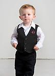 WATERBURY, CT-120218JS01- Christmas Kids, 20-month-old Alex Gueniat of Torrington.<br />  Jim Shannon Republican American