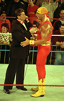 Hulk Hogan   Vince McMahon 1989<br /> Photo By John Barrett/PHOTOlink