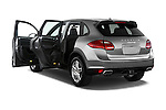 Rear three quarter door view of a 2014 Porsche Cayenne Hybrid S 5 Door SUV