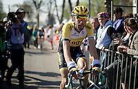 Laurens ten Dam (NLD/LottoNL-Jumbo) post-finish<br /> <br /> 79th Flèche Wallonne 2015