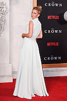 """Vanessa Kirby<br /> at the World Premiere of the Netflix series """"The Crown"""" at the Odeon Leicester Square, London.<br /> <br /> <br /> ©Ash Knotek  D3192  01/11/2016"""
