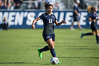 Cary, North Carolina - Sunday December 6, 2015: Raquel Rodriguez (11) of the Penn State Nittany Lions controls the ball during second half action against the Duke Blue Devils at the 2015 NCAA Women's College Cup at WakeMed Soccer Park.  The Nittany Lions defeated the Blue Devils 1-0.
