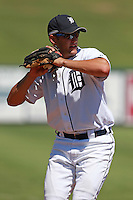 Detroit Tigers third baseman Wade Gaynor (22) during a game vs. the Washington Nationals in an Instructional League game at Joker Marchant Stadium in Lakeland, Florida;  October 1, 2010.   Photo By Mike Janes/Four Seam Images