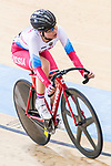 Gulnaz Badykova of Russia competes in the Women's Points Race 25 km Final during the 2017 UCI Track Cycling World Championships on 16 April 2017, in Hong Kong Velodrome, Hong Kong, China. Photo by Chris Wong / Power Sport Images