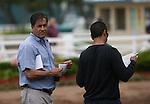 20 June 2009: Trainer John Sadler at Hollywood Park in Inglewood, CA
