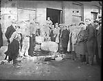 Frederick Stone negative. Prohibition emptying liquor into sewer. Undated photo.