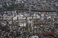 aerial photograph of Santa Cruz, California