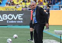 BARRANQUILLA – COLOMBIA, 10-10-2021:  Tite técnico de Brasil durante partido entre los seleccionados de Colombia (COL) y Brasil (BRA), de la fecha 12 por la clasificatoria a la Copa Mundo FIFA Catar 2022, jugado en el estadio Metropolitano Roberto Melendez en Barranquilla. / Tite coach of Brazil during match between the teams of Colombia (COL) and Brasil(BRA), of the 12th date for the FIFA World Cup Qatar 2022 Qualifier, played at Metropolitan stadium Roberto Melendez in Barranquilla. Photo: VizzorImage / Jairo Cassiani / Contribuidor