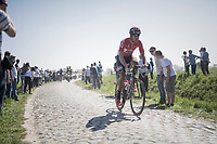 Jelle Wallays (BEL/Lotto-Soudal)<br /> <br /> 115th Paris-Roubaix 2017 (1.UWT)<br /> One Day Race: Compiègne › Roubaix (257km)