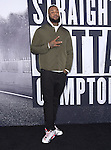 The Game, Jayceon Terrell Taylor attends The Universal Pictures' STRAIGHT OUTTA COMPTON World Premiere held at The Microsoft Theatre  in Los Angeles, California on August 10,2015                                                                               © 2015 Hollywood Press Agency