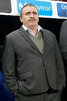 Costa Rica's coach Oscar Ramirez during international friendly match. November 11,2017.(ALTERPHOTOS/Acero)