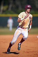 Boston College Eagles first baseman Mitch Bigras (28) during a game against the Ohio State Buckeyes on March 6, 2016 at North Charlotte Regional Park in Port Charlotte, Florida.  Boston College defeated Ohio State 6-2.  (Mike Janes/Four Seam Images)