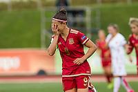 Spain's Veronica Boquete during the match of  European Women's Championship 2017 at Las Rozas, between Spain and Montenegro. September 15, 2016. (ALTERPHOTOS/Rodrigo Jimenez) /NORTEPHOTO