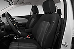 Front seat view of 2017 Chevrolet Sonic LT 4 Door Sedan Front Seat  car photos