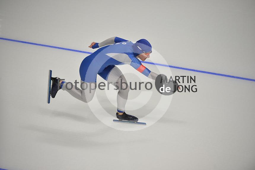 OLYMPIC GAMES: PYEONGCHANG: 14-02-2018, Gangneung Oval, Long Track, 1000m Ladies, Gold medal winner Jorien ter Mors, ©photo Martin de Jong