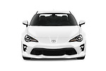 Car photography straight front view of a 2018 Toyota 86 GT 2 Door Coupe Front View