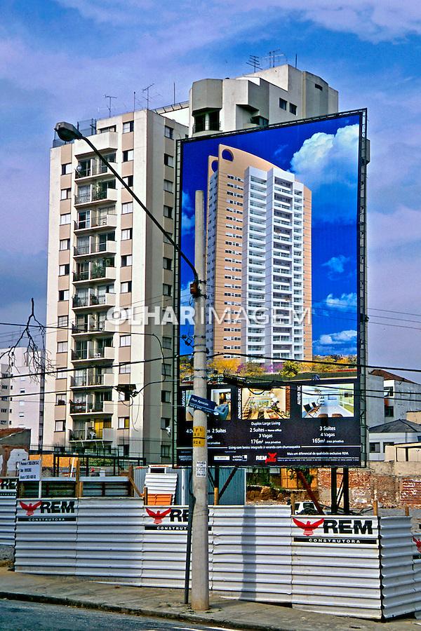 Lançamento de prédio em Perdizes, São Paulo. 2004. Foto de Juca Martins.