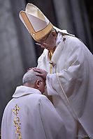 Pope Francis Episcopal Ordinations  ceremony in St. Peter's Basilica at the Vatican, March 19,2018