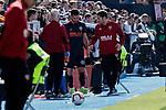 Valencia CF' Jose Gaya injured during La Liga match, Round 25 between CD Leganes and Valencia CF at Butarque Stadium in Leganes, Spain. February 24, 2019. (ALTERPHOTOS/A. Perez Meca)