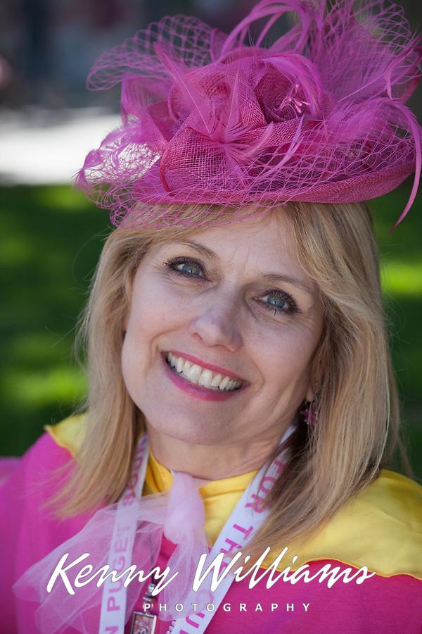 Portrait, Susan G Komen Race for The Cure, Seattle, WA, USA.