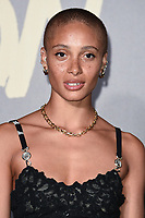Adwoa Aboah<br /> arriving for the Fashion for Relief show 2019 at the British Museum, London<br /> <br /> ©Ash Knotek  D3519  14/09/2019