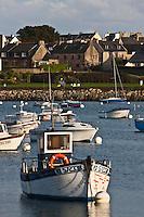 Europe/France/Bretagne/29/Finistère/Roscoff: Bateaux de pêche et maisons des pêcheurs